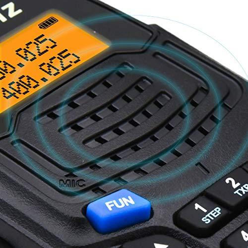 Walkie Talkies 2 Way Radios-Olywiz UV6S 5W 2000mAh Battery Range 15 Miles Walky Talky 2PCS-Backlight Display Dual Band 128CH Ham Radio with VOX Flashlight IP54 Function