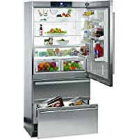 Liebherr CS2060 19.4 Cu. Ft. Gray Counter Depth Bottom Freezer Refrigerator - Energy Star