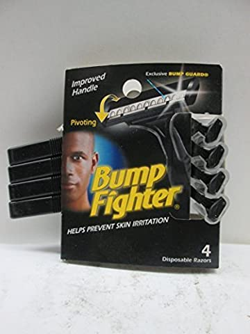 Bump Fighter Disposable Razors 4 Each (Pack of 2)