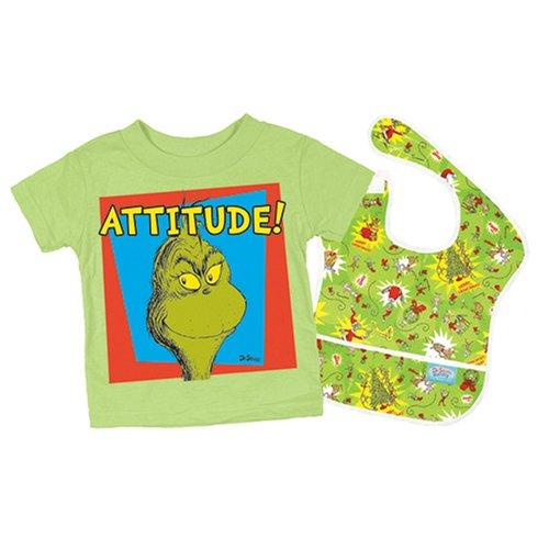 Bumkins Toddler Gift Set Grinch product image