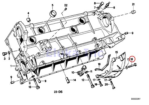Auto // Manual Trans Bellhousing To Engine 8 X 50 Mm BMW Genuine Bolt 735i 633CSi 635CSi M6 524td 528e 533i 535i M5 318i 318is 325e 325i 325ix M3 840Ci 840i 850Ci 850CSi 735i 735iL 740i 740iL 750iL 525i 530i 535i 540i M5 3.6 318i 318is 318ti 320i 323i 3