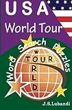 USA - World Tour Word Search Puzzles, J. Lubandi, 1496156846