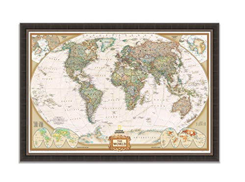 Silver Antique Map - 6