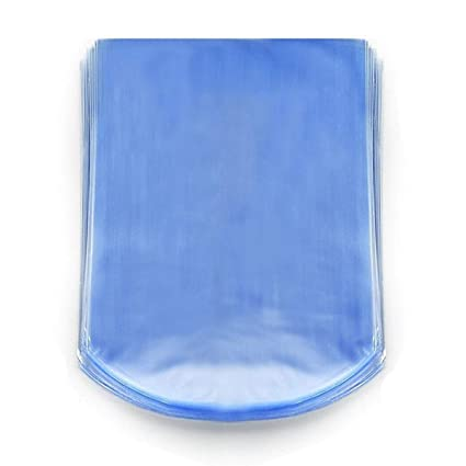 24x24 inch Odorless Packagaing and Other Merchandise Soaps Clear 100 Pack PVC Heat Shrink Wrap Bags for Gifts   MagicWater Supply 100 Guage Bath Bombs Homemade DIY Projects