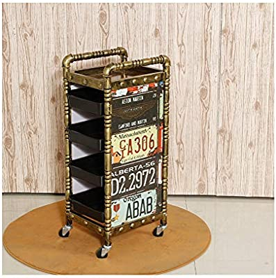 Amazon Ylyx Five Layer Retro Hairdressing Tool Cart Multi