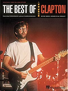 The Best of Eric Clapton Piano, Voix, Guitare