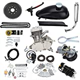 Sthus Silver Engine Kit Fit For 2 Stroke 80cc Gas Motorized Bicycle Push