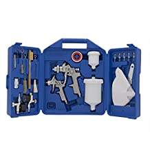 Spray Gun Kit, Gravity Feed, includes 2 Spray Guns, Accessories and Carrying Case (Campbell Hausfeld CHK005CCAV)