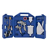 Campbell Hausfeld CHK005CCAV Gravity Feed Case Spray Gun Kit, Blue