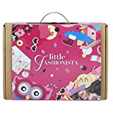 JackInTheBox Little Fashionista 3-In-1 Girl Craft Kit: Gift For Girls Ages 5-10 Years: Contains A Felt Owl Pouch, Quilling, And Girl Power Bracelets