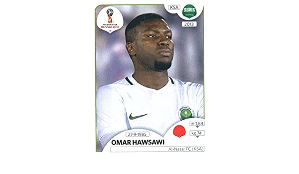timeless design 1c250 2692b Amazon.com: 2018 Panini World Cup Stickers Russia #58 Omar ...