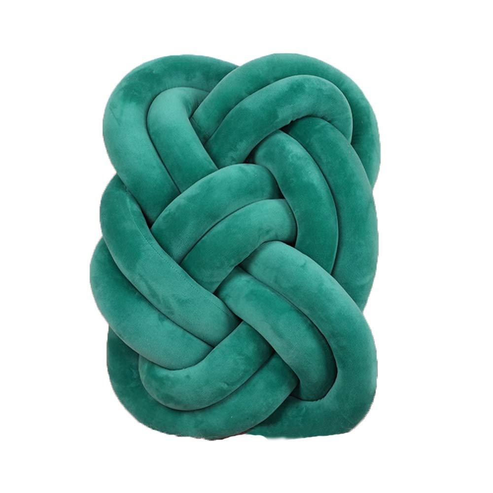 Amazon.com: Almohada de bola con nudos, almohada decorativa ...