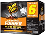 Black Flag HG-11037-1 Indoor Fogger, 1.25-Ounce, Case of 4