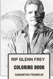 hotel books poster - RIP Glenn Frey Coloring Book: Eagles Frontman and Epic Rock Vocalist Hotel California Creator and Talent Inspired Adult Coloring Book (Glenn Frey Books)
