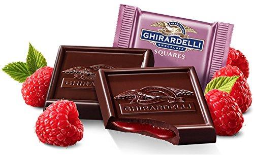 Ghirardelli Bulk Dark Chocolate Raspberry Squares (5 pound)