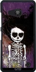 Funda para Microsoft Lumia 550 - i esqueleto by Rouble Rust