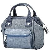 Himawari Women's Soft Top Handle Bag Tote Bags With Canvas Handbags Backpack (SY Denim Blue)