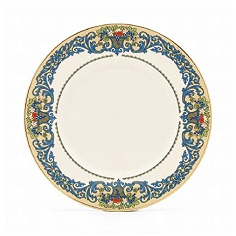 Lenox Autumn Gold Banded Ivory China 9-Inch Accent Plate  sc 1 st  Amazon.com & Amazon.com | Lenox Autumn Gold Banded Ivory China 9-Inch Accent ...