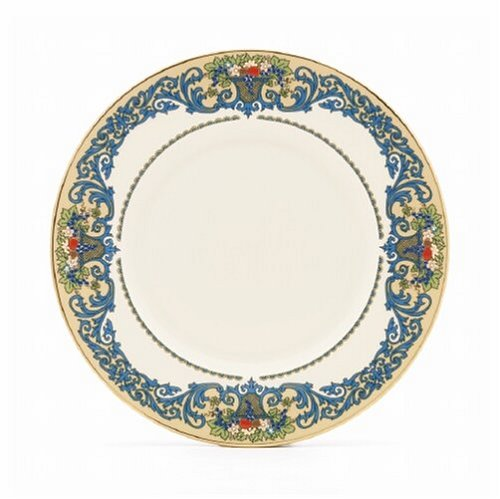 Lenox Autumn Gold Banded Ivory China 9-Inch Accent Plate 6094809