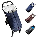 Warm Cuddly Weather Resistant Baby Footmuff Fits Most Toddler Strollers Sleeping Bag Cocoon - Cozy Warmer For Baby Outdoor Walking With Unique Design