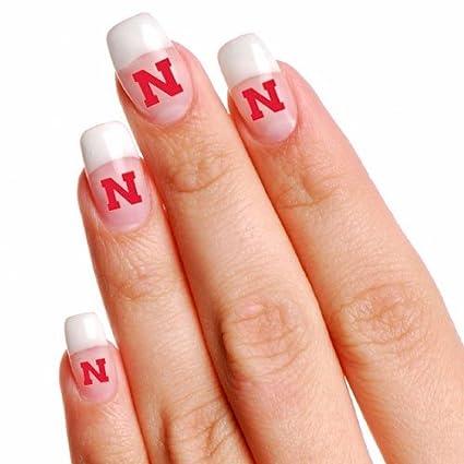 Amazon Ncaa Nebraska Cornhuskers 4 Pack Temporary Nail Tattoos
