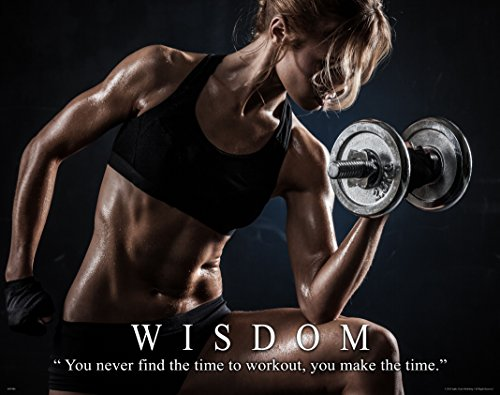 Workout Poster Motivational Lifting Athletic