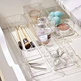 STORi Clear Plastic Vanity and Desk Drawer