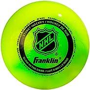 Franklin Sports NHL Street Hockey Glow in The Dark Ball
