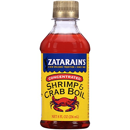 (Zatarain's New Orleans Style Liquid Crab Boil, 8 oz (Pack of 6))