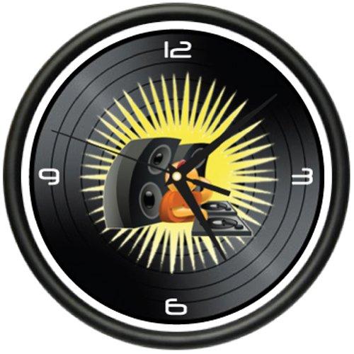 - SignMission DJ Wall Clock disc Jockey Turntable Mixer Record Gift, Beagle