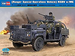 Hobby Boss RSOV with Machine Gun Vehicle Model Building Kit from MMD Holdings, LLC
