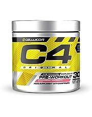 Pre-workout Powder C4 Original Strawberry Margarita | Pre-workout Energy Drink Supplement | 150mg Cafeïne + Bèta-alanine + Creatine-monohydraat | 30 Doseringen