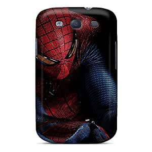 HugeOfficial Perfect Tpu Case For Galaxy S3/ Anti-scratch Protector Case (the Amazing Spider Man)
