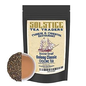 Chinese Restaurant Tea: Oolong Classic Loose Leaf Tea (8 ounces); Bulk Tea Makes 90+ Teacups of Chinese Tea