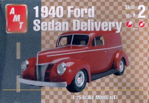 Chevy Deluxe Model - AMT 1940 Ford Sedan Delivery Model Kit
