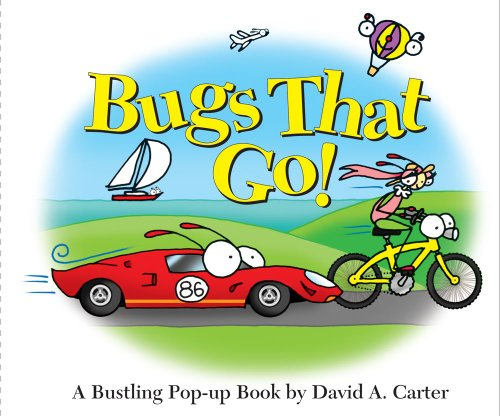 Birthday Bugs - Bugs That Go!: A Bustling Pop-up Book (David Carter's Bugs)
