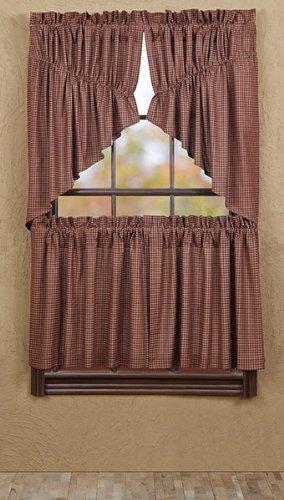 5816 Window (Bancroft Prairie Swag Lined (set of 2) 36x36x18