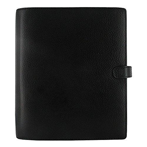 Filofax 2019 A5 Finsbury Organizer, Black, Paper Size 8.25 x 5.75 inches (C025368-19) (Finsbury Personal Organizer)