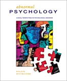 Abnormal Psychology : Human Experience, Halgin, Richard P. and Whitbourne, Susan Krauss, 0072289821
