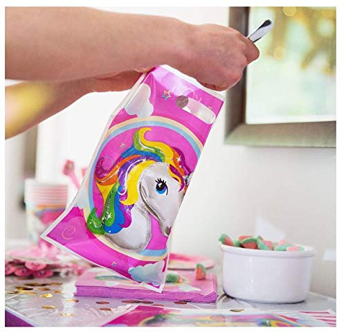 Disposable Tableware Set Party Favors Dr.Premium 24 Pc Unicorn Cupcake Wrappers /& Toppers 30 Magical Balloons Glittery Unicorn Headband 180++ Complete Unicorn Party Supplies /& Decorations