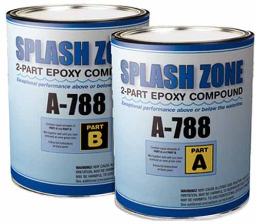 Pettit Paint Splash Zone A-788, Half Gallon Kit