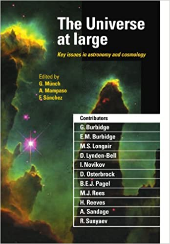 Book The Universe at Large: Key Issues in Astronomy and Cosmology