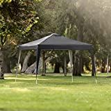 Best Choice Products 10x10ft Portable Adjustable Instant Pop Up Canopy Tent w/Carrying Bag, Black