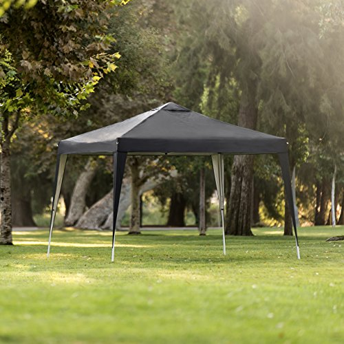 - Best Choice Products 10x10ft Outdoor Portable Adjustable Instant Pop Up Gazebo Canopy Tent w/Carrying Bag Black