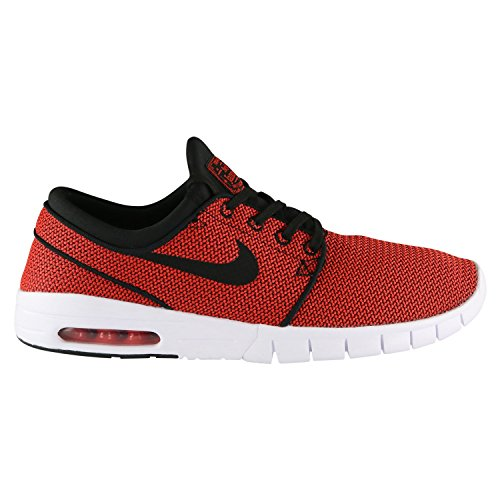 buy popular f8f05 74815 Galleon - Nike Men s Stefan Janoski Max Black Black-max OrangeSneakers - 12  D(M) US