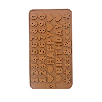 DEESEE(TM) Molde de silicona para fondant para decoración de tartas y chocolates: Amazon.es: Bricolaje y herramientas