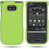 CoverON® Hard Rubberized Slim Case for NEC Terrain - with Cover Removal Pry Tool - Neon Green