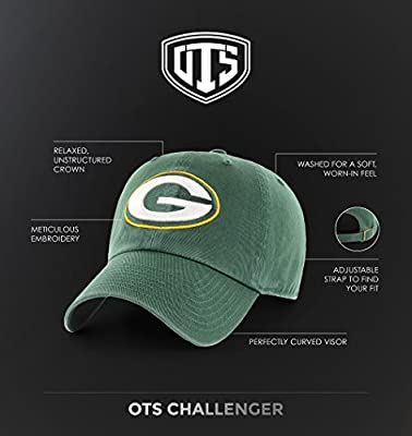 OTS NFL unisex-adult NFL Woodford Challenger Clean Up Adjustable Hat