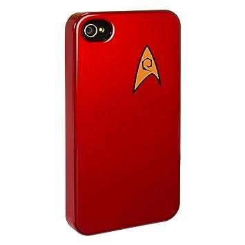 online retailer 5f5e1 67f95 getDigital Star Trek iPhone 4 Case : Engineering Division (red)