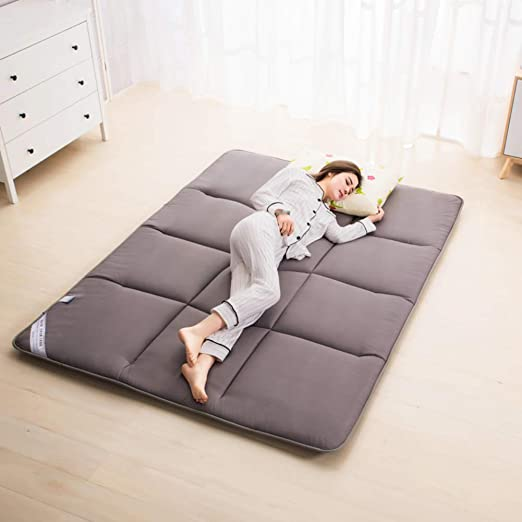 Amazon Com Thick Tatami Mattress Sleeping Pad Breathable Soft